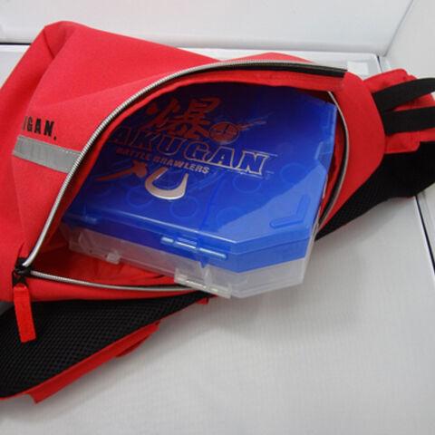 Inside the backpack