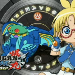 Marucho and Elfin on the Japanese eyecatch