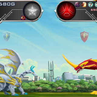 Dragonoid Colossus vs. Haos <a href=