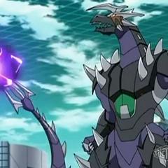 Infinity Helios using ability <b>Bolting Breaker</b>