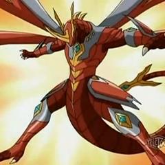 Titanium Dragonoid in Bakugan Form