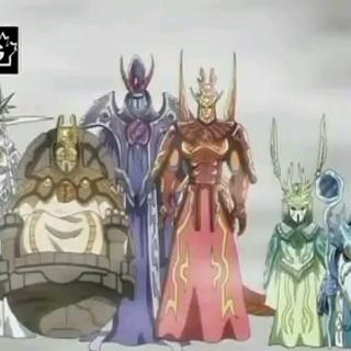 Die Sechs legendären Krieger von Vestroia