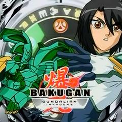 Shun in his Castle Knight uniform with Hawktor on the Intermission Screen