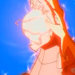 Drago using <b>Core Buster</b>