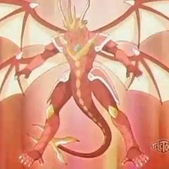 Lumino Dragonoid using ability <b>Hyper Reflector</b>
