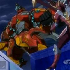 Titanium Dragonoid and zenthon