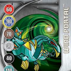 Silver Gate Card design for Bakugan: New Vestroia