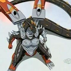 Helios MK2 in Bakugan form