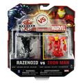 Razenoid vs Iron Man
