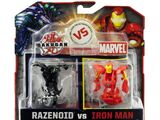 Bakugan vs Marvel