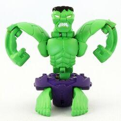 BakuMarvel Hulk prototype