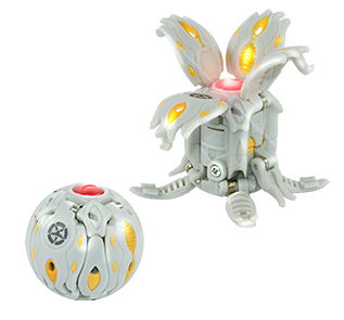 Bakugan Pyrus red LUMINO DRAGONOID 870G Gundalian Invaders season 3