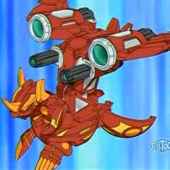 Helix Dragonoid attached to <a href=