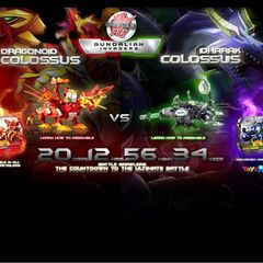 Dharak and Dragonoid Colossus online promo