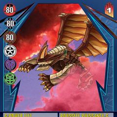 Blue Ability Card design for Bakugan: Gundalian Invaders