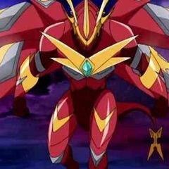 Fusion Drago preparing Dragon Eternal Force