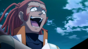 Evil Jake laughs like Shion xD