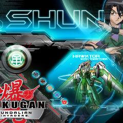 Shun at Bakugan.com