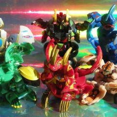 Wonderful anime-accurate GI Bakugan painting! These are the Brawler side.