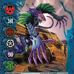 Blue Ability Card design for Bakugan: Mechtanium Surge