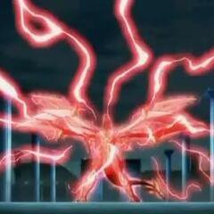 Drago losing control and using ability <b>Dragon Hard Striker</b>