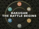 BAKUGAN THE BATTLE BEGINS