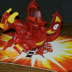 Translucent Pyrus Helix Dragonoid (complete open front)