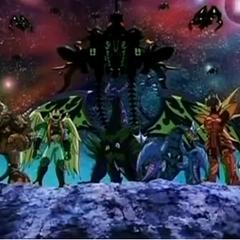 The Twelve Orders' Bakugan