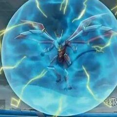 Titanium Dragonoid trapped