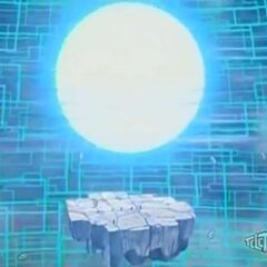Bakugan Interspace collapsing because of a Death Bomb