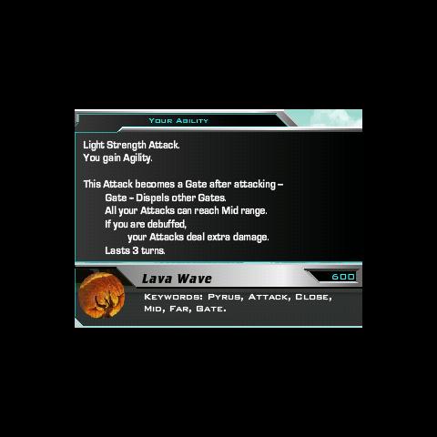 Lava Wave's description.