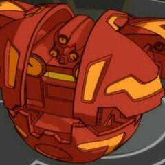 Robotallian in Ballform