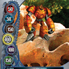 Silver Gate Card design for Bakugan: Mechtanium Surge