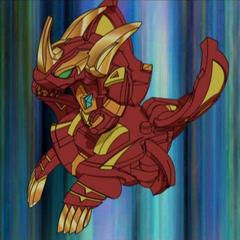 Lumino Dragonoid in ball form
