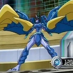 Akwimos with Gigarth in Bakugan form
