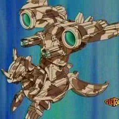 Subterra Helix Dragonoid with JetKor in ball form