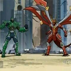 Titanium Dragonoid with Taylean