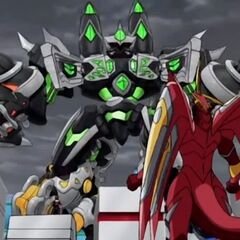 Mechtavius Destroyer conforting Drago
