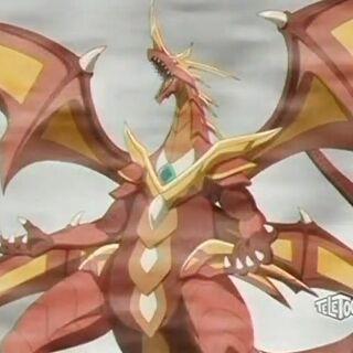 Cross Dragonoid in Bakuganform