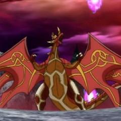 Ultimate Dragonoid in Bakugan Form