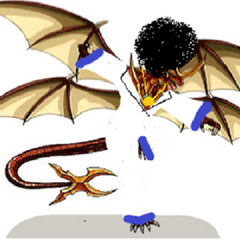 Afro Dragonoid: The funkiest Bakugan you will ever see.