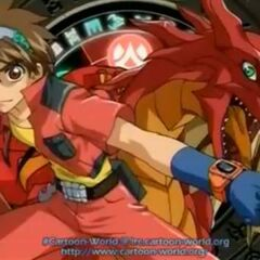 Dan and Drago's Bakugan form