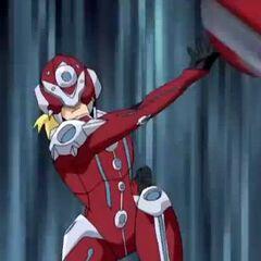 Gunz (as Wiseman) throwing Spatterix