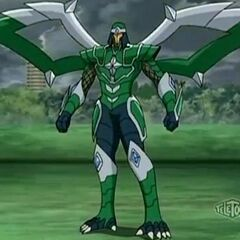 Mutant Taylean just after mutating with Titanium Dragonoid