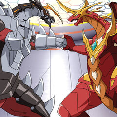 Helios MK2 vs. Cross Dragonoid.