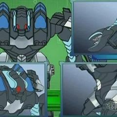 Venexus Titan showing his parts