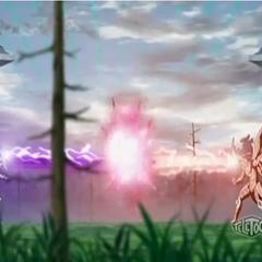 Horridian using <b>Tribal Crusher</b> against Drago