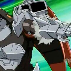 Helios MK2 using ability <b>Dragon Pounce</b>