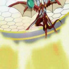 Helix Dragonoid using <b>Burning Reflector</b>