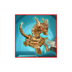 Lumino Dragonoid in ball form.